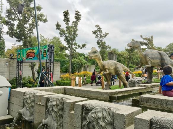 Dinosaursstomping