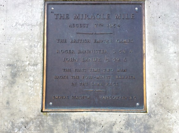 Miracle Mile Plaque