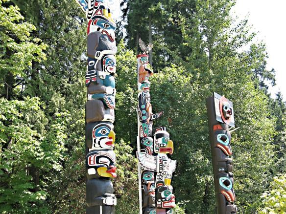 Totem poles Three (2)